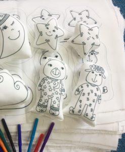 Estampas: brinquedos e cia. para colorir