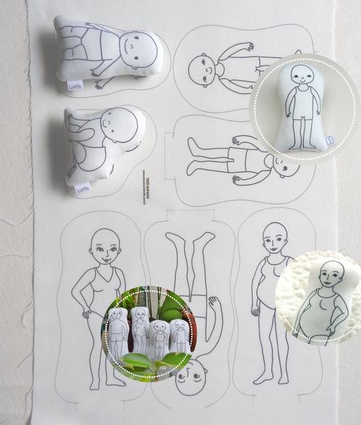 figuras humanas-estampa